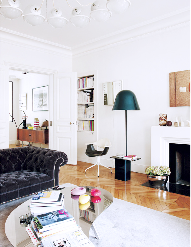 Eclectic Parisian Apartment 3