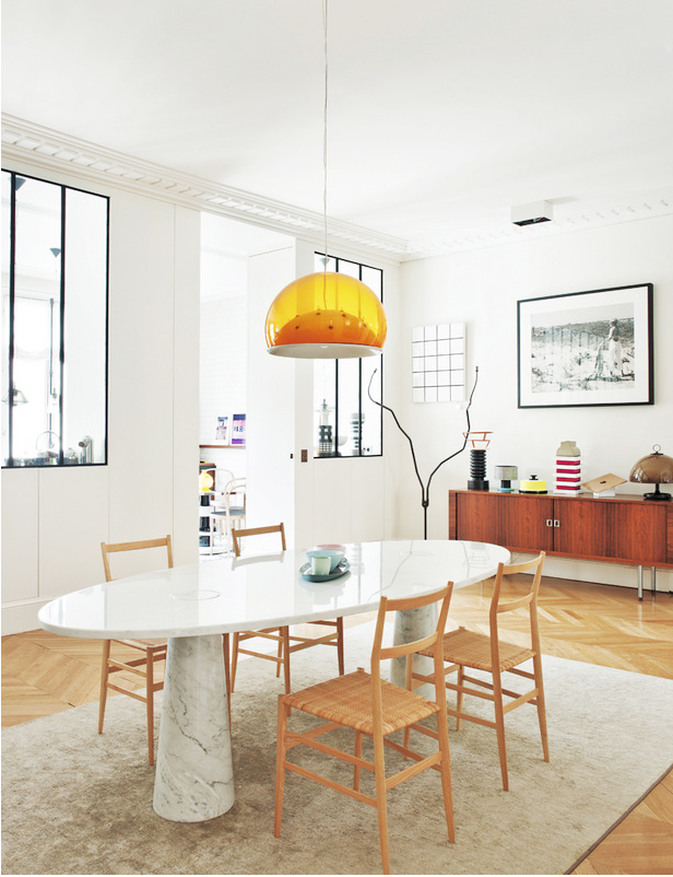 Eclectic Parisian Apartment 4