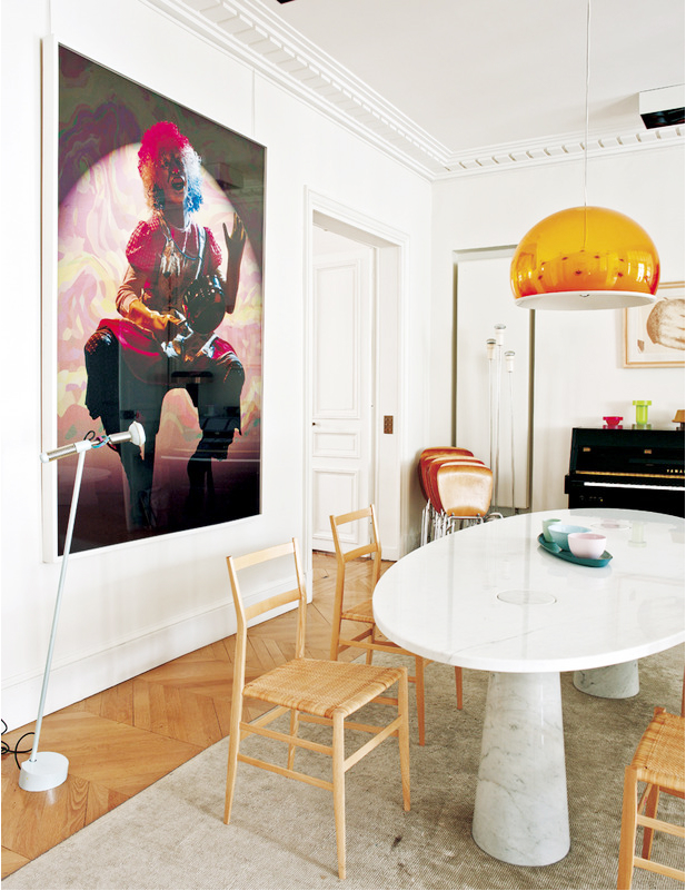 Eclectic Parisian Apartment 5
