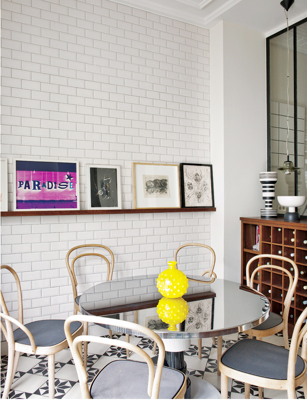 Eclectic Parisian Apartment 6