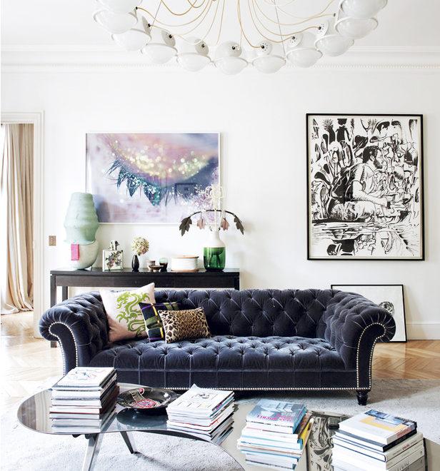 Eclectic Parisian Apartment