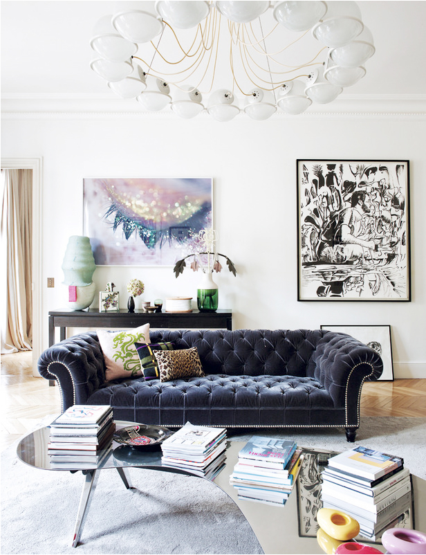 Eclectic Parisian Apartment