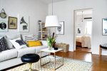 Lovely Apartment With Yellow Touches 7