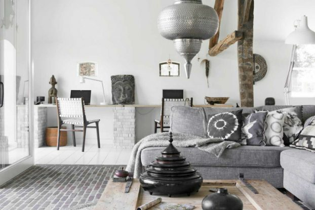 Global ethnic Chic interior In Netherlands