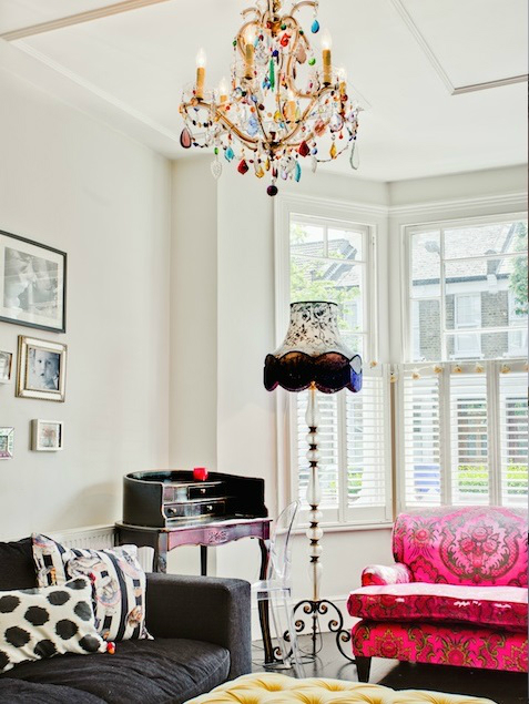 happy modern Victorian home interior 2
