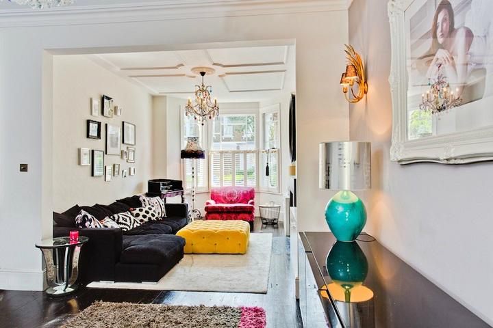 happy modern Victorian home interior 5