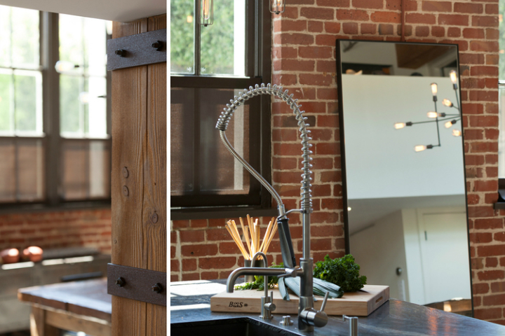 gorgeous functional kitchen with ladder 4