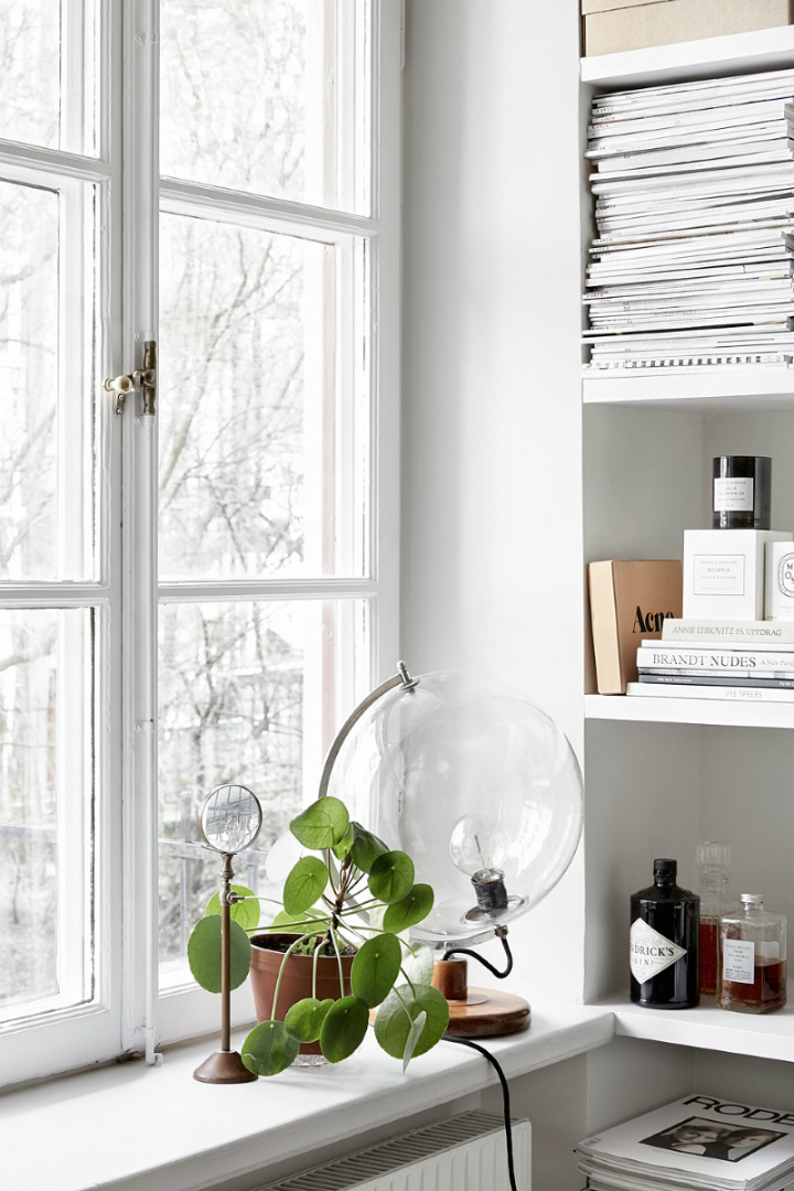 minimal Scandinavian design studio small apartment 5