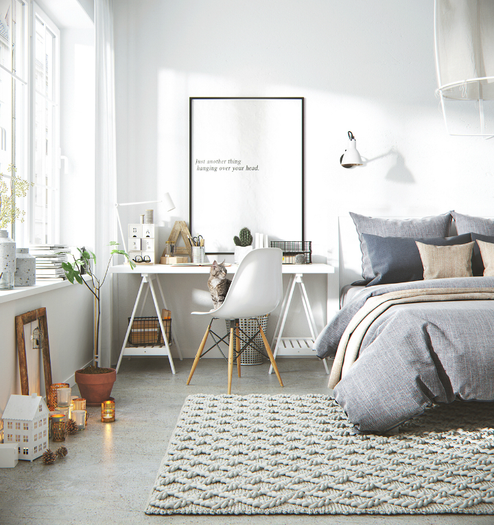 What makes nordic style apartment a popular interior - Decoracion nordica salon ...