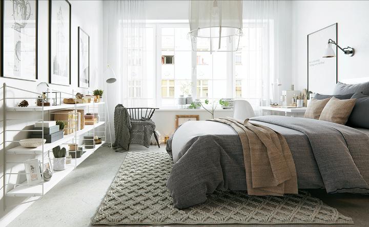 apartment with nordic style interior design 8