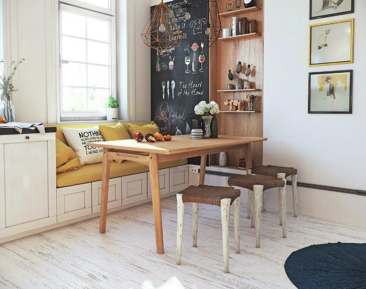Scandinavian Apartment interior design by image box studio 10