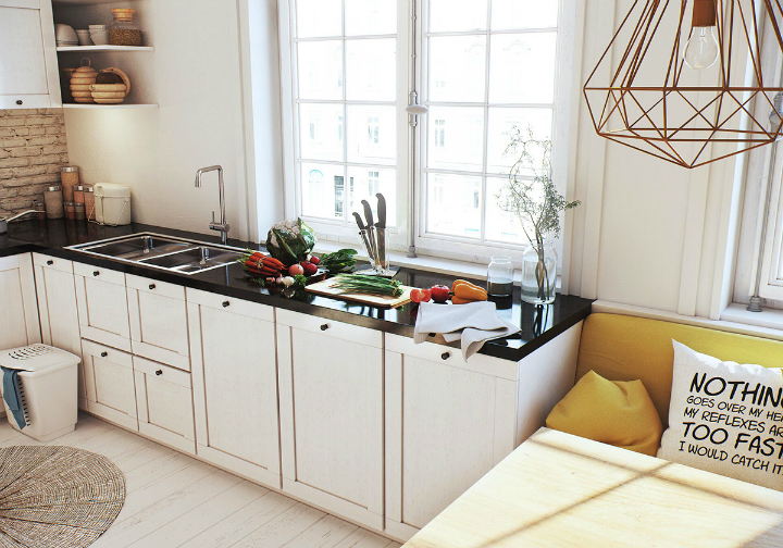 Scandinavian Apartment interior design by image box studio 13
