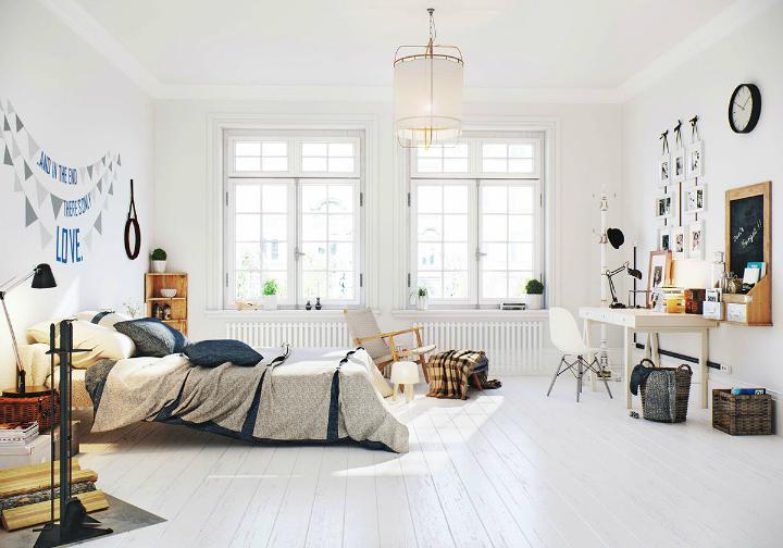 Scandinavian Apartment interior design by image box studio 17