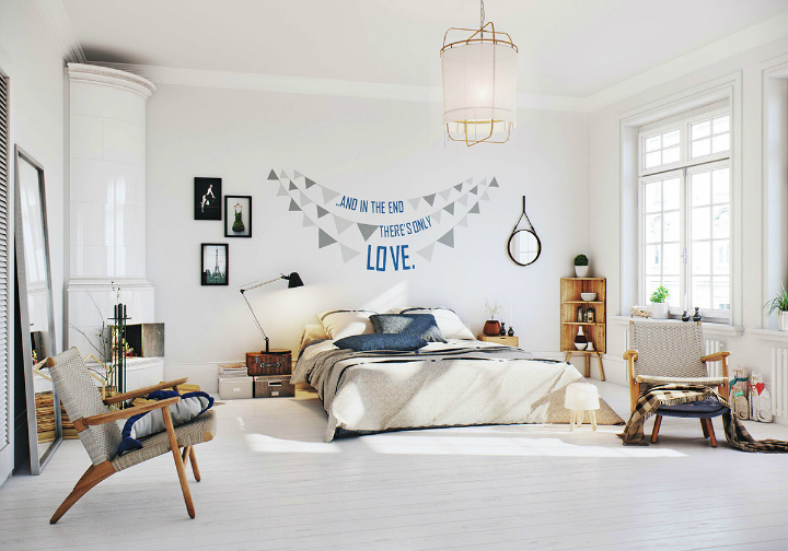 Scandinavian Apartment interior design by image box studio 18