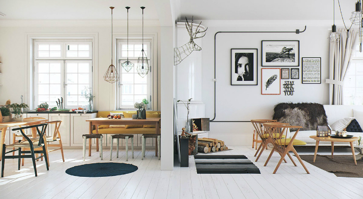 White Wood Flooring Is Bright And Right - Decoholic