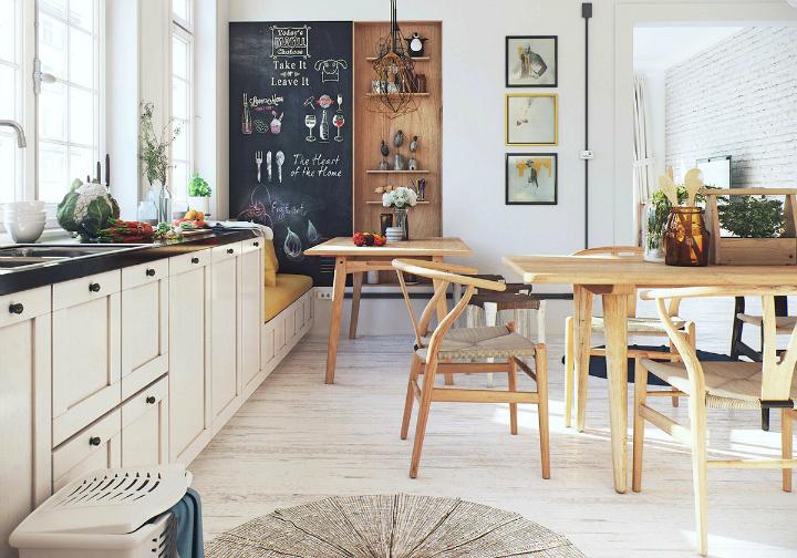 Scandinavian Apartment interior design by image box studio 9