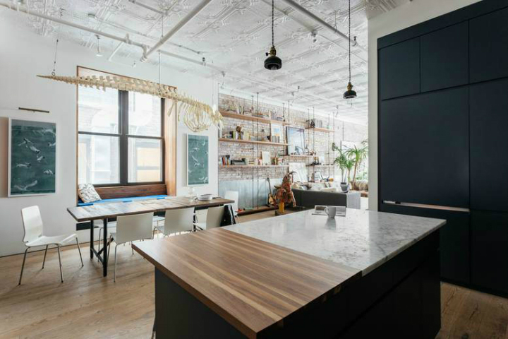 Tribeca industrial loft interior 10