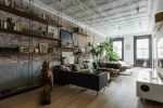Tribeca industrial loft interior
