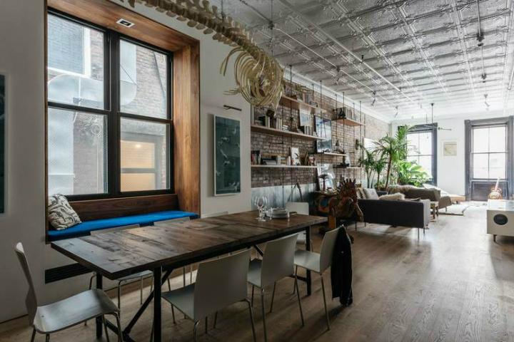 Tribeca industrial loft interior 6