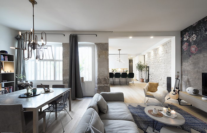 contemporary french apartment interior design 1319
