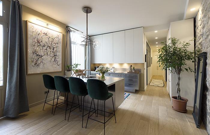 contemporary french apartment interior design 5