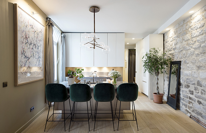 contemporary french apartment interior design 6