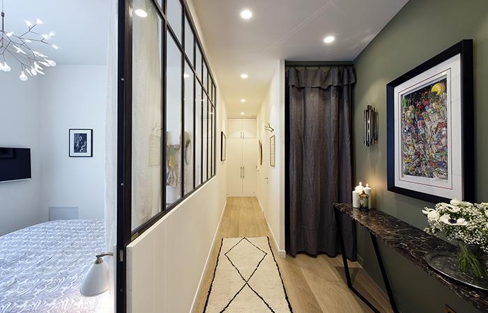 contemporary french apartment interior design 9
