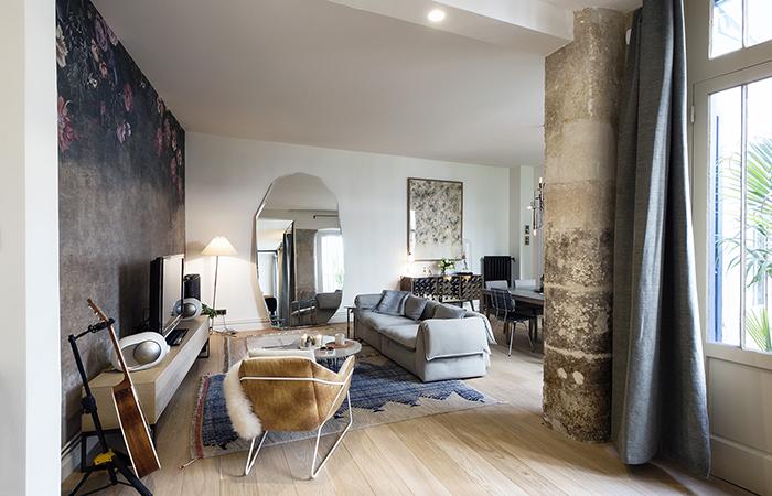 contemporary french apartment interior design
