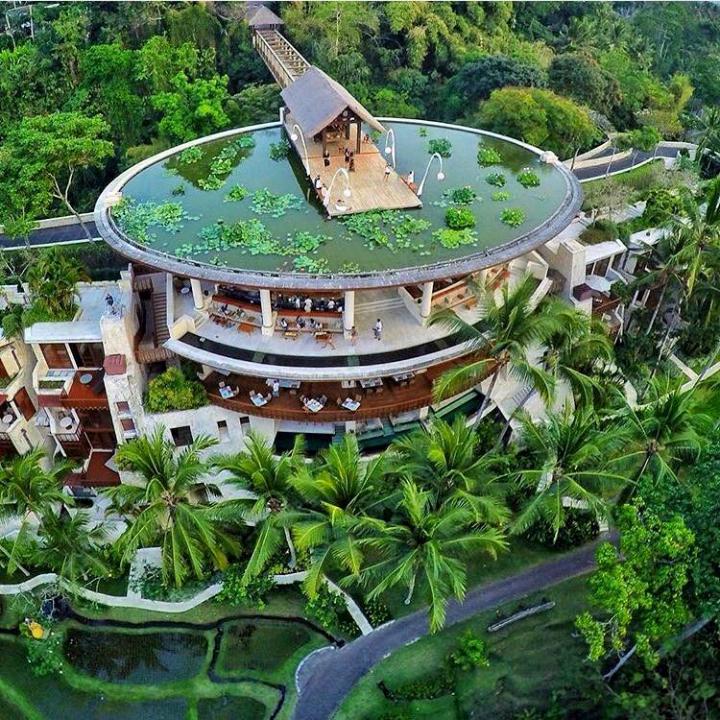 Four Seasons Resort Bali at Sayan swimming pool