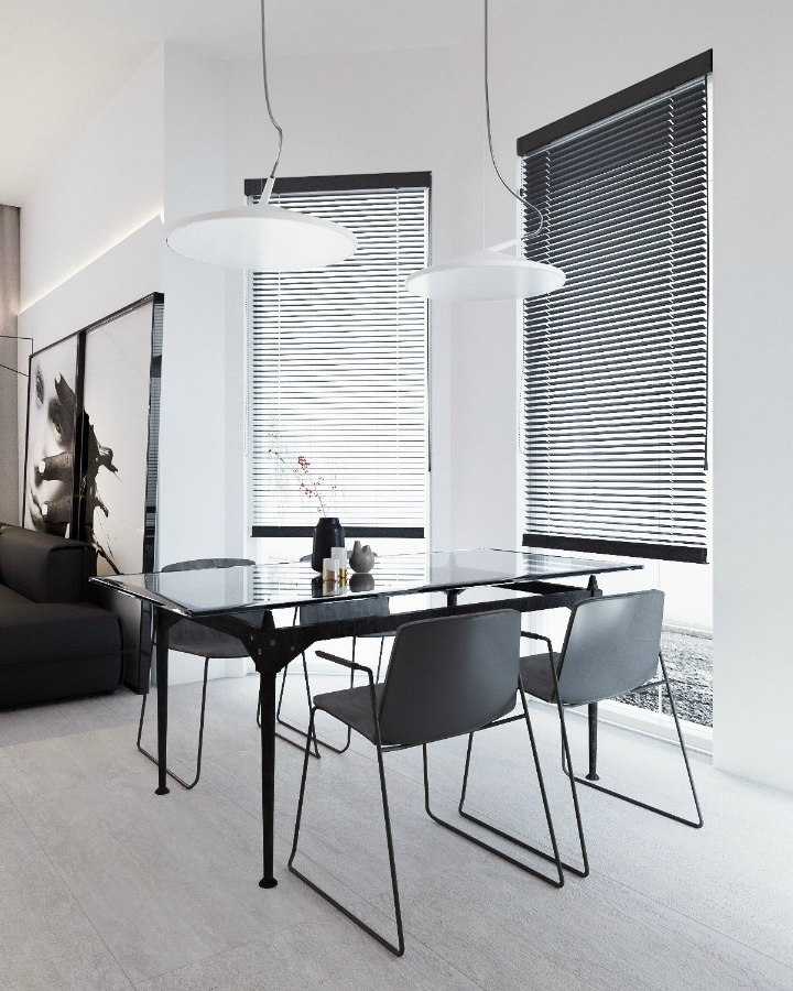 Minimalist Black and White Interior 5