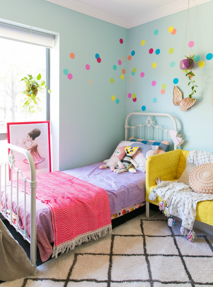 Lovely Family Home Filled With Light Color and Pattern 33