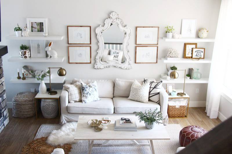 Super Cozy and Stylish On A Budget Home interior design 10