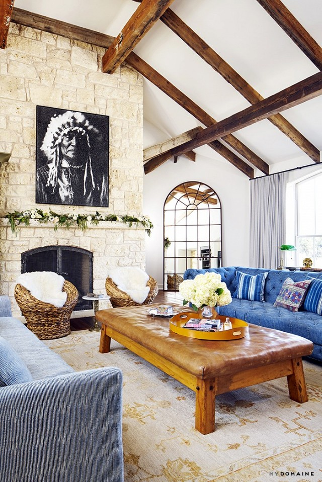 Brooklyn Decker's Eclectic Happy Texas Home 2