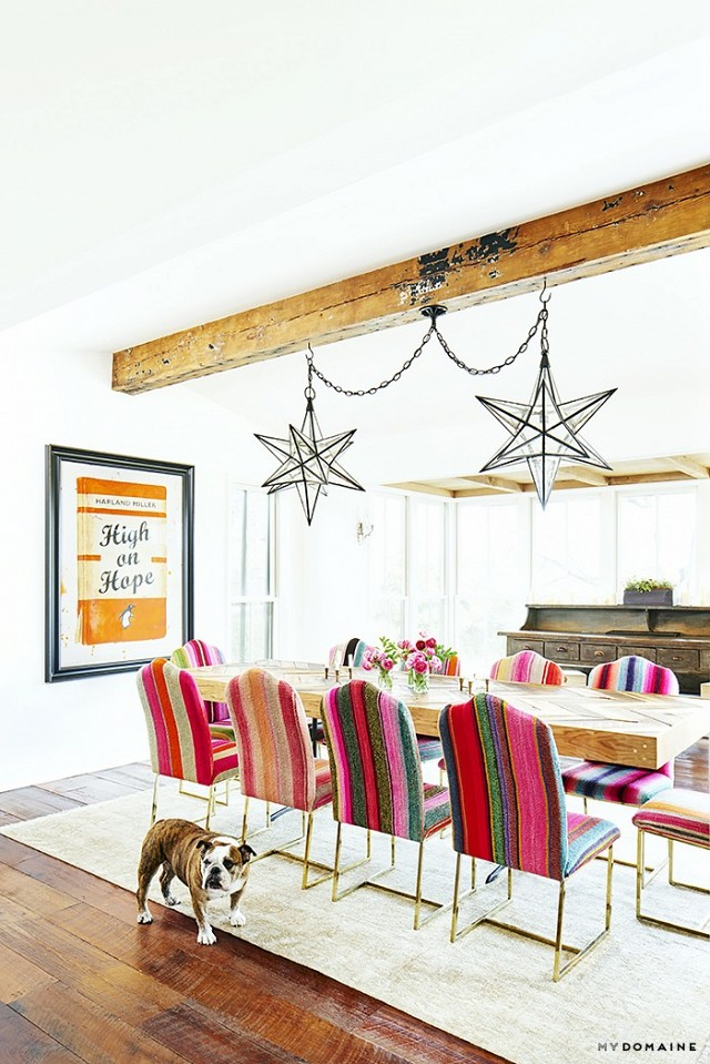 Brooklyn Decker's Eclectic Happy Texas Home 6