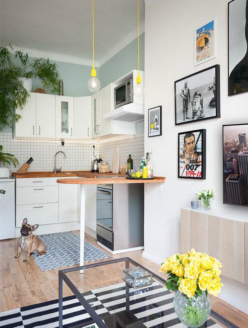 Color-Filled Budget-Savvy Prague Apartment