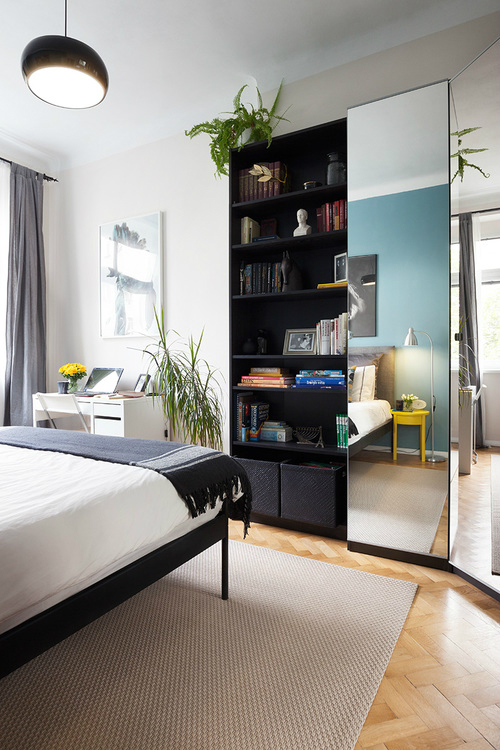 Color-Filled Budget-Savvy Prague Apartment 6