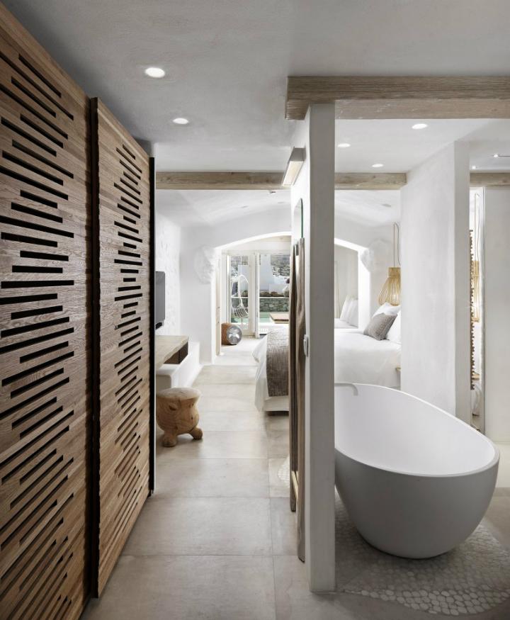 Kensh boutique hotel suites on mykonos for Design boutique hotel mykonos