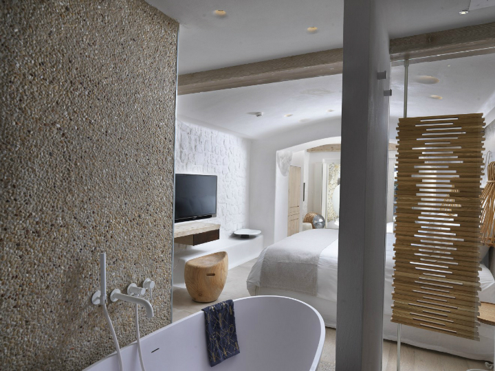 Kensh boutique hotel suites on mykonos decoholic for Design boutique hotel mykonos
