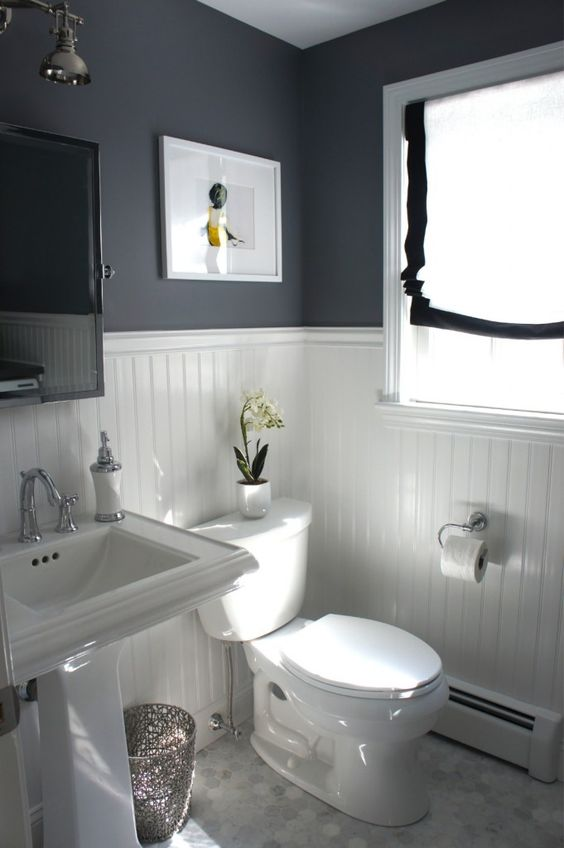 black and white bathroom 15 design