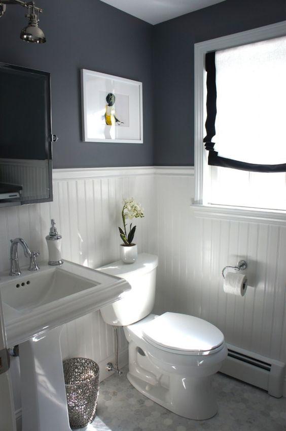 black and white bathroom 15 design