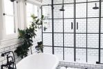 black and white bathroom idea