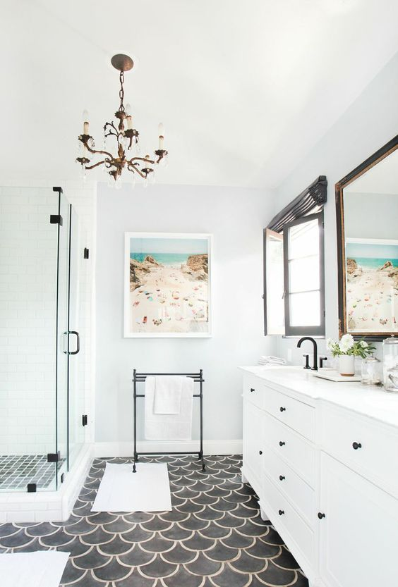 black and white bathroom 17 design
