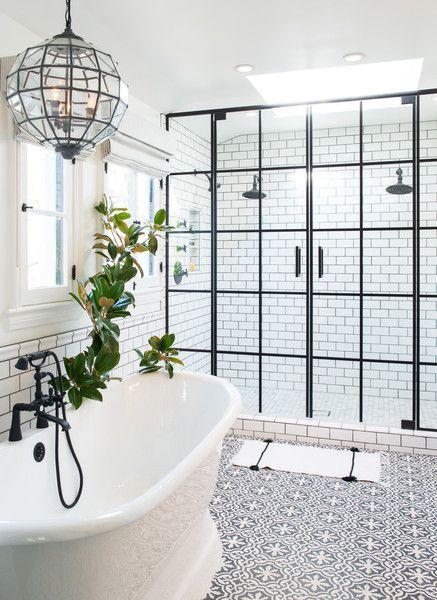 black and white bathroom 18 design