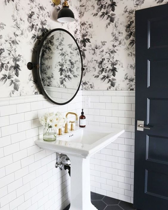 black and white bathroom idea 3