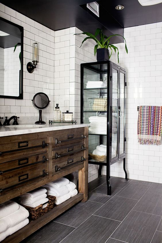 black and white bathroom idea 4