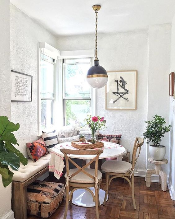 The Most Inspiring Breakfast Nook