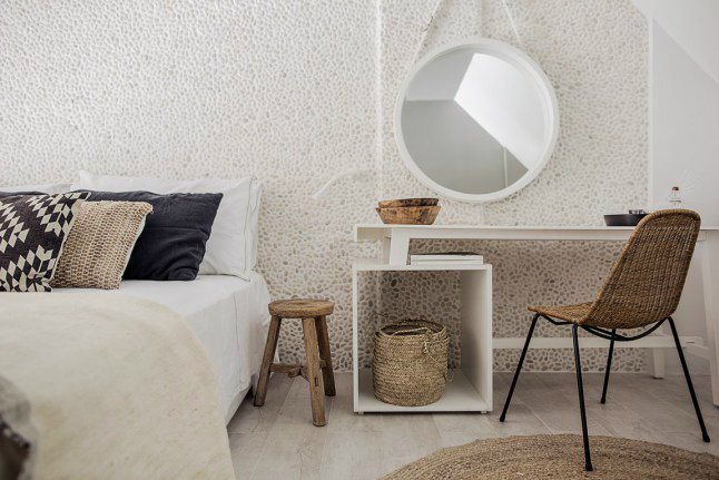 Casa Cook: Bringing an Urban Beat to the Beach   bohemian hotel design on greek island 11