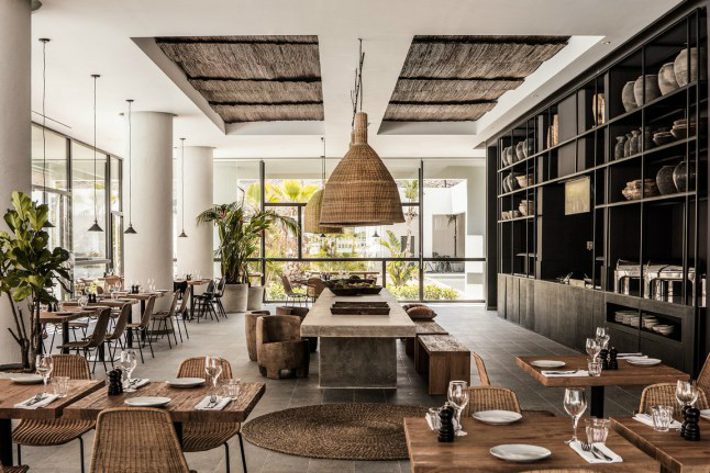 Casa Cook: Bringing an Urban Beat to the Beach   bohemian hotel design on greek island 2