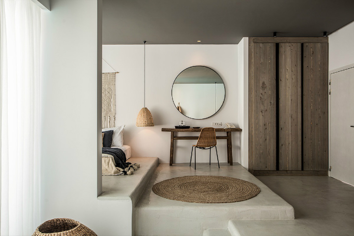 Casa Cook: Bringing an Urban Beat to the Beach   bohemian hotel design on greek island 23