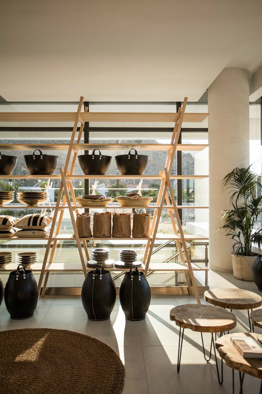 Casa Cook: Bringing an Urban Beat to the Beach   bohemian hotel design on greek island 26